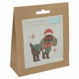 Trimits | Counted Cross Stitch Kit | Festive Beagle