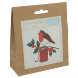Trimits | Counted Cross Stitch Kit | Robin