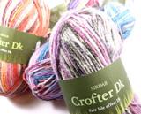 Sirdar Crofter DK Multi Coloured Knitting Yarn, 50g Balls   Various Colours - Main Image
