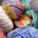 Adriafil New Zealand Print Multicoloured Knitting Yarn, 100g | Main image