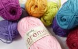 Wendy Supreme Luxury Cotton 4 Ply Knitting Yarn, 100g Balls   Various Shades - Main Image