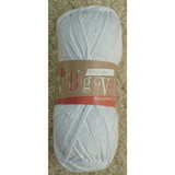 King Cole Big Value Recycled Cotton Aran, 100g Balls | 11155 White
