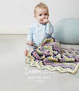 Baby's Zig-zag Blanket Crochet Pattern | Debbie Bliss Rialto 4 Ply - Main Image