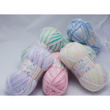 King Cole Candystripe DK Knitting Yarn | Various Colours - Main Image