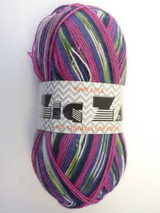 King Cole Zig Zag 4 Ply - Thistle 764