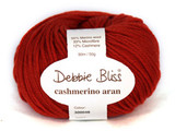 Debbie Bliss Cashmerino Aran Knitting Yarn, 50g | Various Colours  - Main image 2