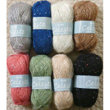 Wendy Celeste DK Sequin Studded Knitting Yarn | Various Shades - Main Image