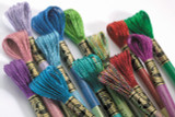 DMC Light Effects Six Strand Embroidery Thread | Jewel Shades