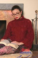 Adriafil Soffio Plus Free downloadable Knitting Pattern for Sweater & Socks - Main image