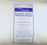 "Polyester Wadding - 90"" and 124"" Wide 