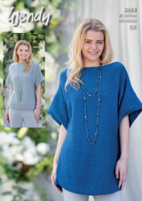 Dk Pattern for Scoop Hem Sweater and Tunic   5993   Wendy Fleur Dk