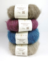 Rowan Kidsilk Haze Vintage Lace Weight Knittting Yarn | Various Colours - Main Image