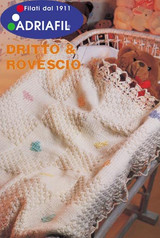 Butterfly Baby Blanket Pattern   Adriafil Avantgarde - Free Downloadable Knitting Pattern 40 - Main image