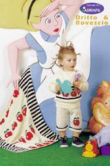 Child's Mini Pullover, Socks, Blanket and Toy Sack Knitting Pattern | Adriafil Avantgarde - Free Downloadable Knitting Pattern 44 - Main Image