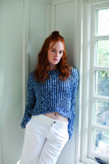 All Tangled Up Sweater - Free Downloadable Pattern for Rowan Stone Washed