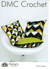 Tribal Triangles Crochet Pattern   DMC Natura Just Cotton