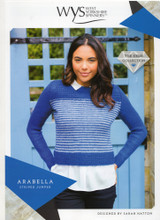 Arabella Striped Jumper Pattern | WYS Wensleydale Gems