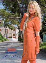 Womens Knitted Summer Dress Pattern (MARMOLADA) | Adriafil Avantgarde - Free Downloadable Knitting Pattern 47, Main Image