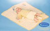 Hat Purse and Baby Blanket Pattern (PULCINO) | Adriafil Avantgarde & Azzurra- Free Downloadable Knitting Pattern NN43 - Main Image