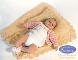 Baby Dress, Jacket, Blanket and Booties (SOFIA) Pattern AU40 | Adriafil Avantgarde  - Free Downloadable Knitting Pattern - Main image