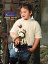 Manet Pullover Knitting Pattern using Adriafil Carezza | Free Downloadable Pattern PG33 - Main image