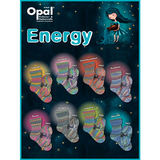 Opal Energy 4 Ply Sock Knitting Yarn in 100g Balls  | Various Colours