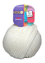 Adriafil Unico Chunky Yarn | Various Colours - Main Image (60 White)