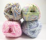 Sirdar Snuggly Baby Crofter 4 Ply Yarn - 50g balls   various shades