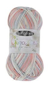 King Cole Giza Cotton 4 Ply Knitting Yarn | Various Colours - Main