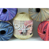 King Cole Raffia Knitting Yarn | Various Shades - Main Image