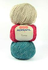 Adriafil Terna Cotton Rich yarn -50g balls | various shades