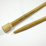 Pony Bamboo Single Pointed Knitting Needles (Pair), 33cm Long | Sizes 2mm - 10mm - Main Image