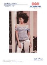 Celeste Crochet Top Pattern | Adriafil Setasilk