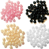 Trimits | Glass Pearls | Various Colours | 5mm | Approx 40 Pieces