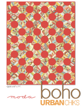 Boho | Urban Chiks | Moda Fabrics | Free Downloadable Pattern