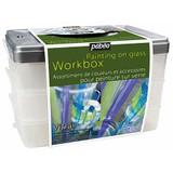 Pebeo Vitrail Collector Glass Painting Workbox Set, 15 x 45ml Vitrail - Main Image