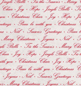 Christmas Wishes Fabric for Blank Corp - Season's Greetings Grey - 8172-90