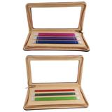 KnitPro Zing Double Pointed Knitting Pins Set   2.5mm - 5.0mm   20cm Long - Main Image