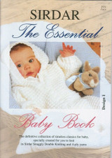 Sirdar Knitting Pattern Book | The Essential Baby Book (273) | 26 Patterns - Main Image