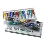 Winsor & Newton Winton Oil Colour Art Set | Set of 10 Oil Paints | 37ml Tubes - Main Image