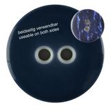 Dill Buttons   Navy Blue Buttons   18mm