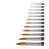 Winsor & Newton Artists Watercolour Sable Brushes, Round | Various Sizes - Main Image