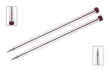 KnitPro Nova Metal Straight Single Point Needles | 30 cm Long - Main Image