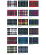 Berisfords | Woven Tartan Ribbon | 40mm wide | Article 7622 | Various Tartan Designs - Main image