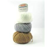 Adriafil Stella Alpina 100% Wool Aran Knitting Yarn, 50g | Various Shades - Main Image