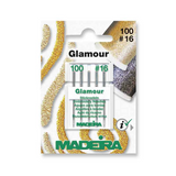Madeira Machine Embroidery Needles, Glamour / Decora | Size 100, No. 16 | 5 Pcs - Main Image