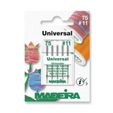 Madeira, Machine Embroidery Universal Needles | Size 75 - No. 11 | 5 Pcs - Main Image