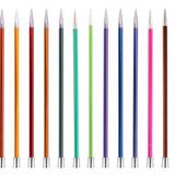 KnitPro   Zing Metal Knitting Needles   Single Point   40cm Long   Various Diameters - Main Image