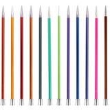 KnitPro | Zing Metal Knitting Needles | Single Point | 30cm Long | Various Diameters - Main Image