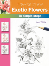 How to Draw Exotic Flowers by Janet Whittle - Main image